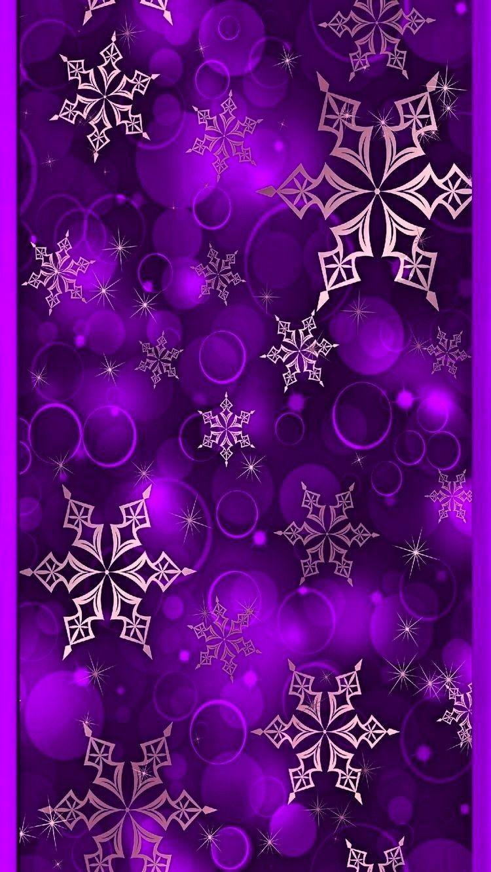 Purple and pink snowflake christmas snowflake snow winter - Purple christmas desktop wallpaper ...
