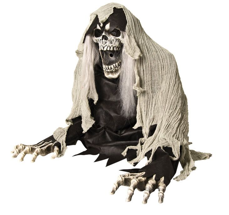 Reaper Animated Fogger Nifty Things  DIYs Pinterest - animated halloween decorations