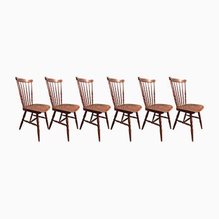 Menuet Bistro Stühle von Baumann, 1960er, 6er Set Jetzt bestellen - stühle für die küche