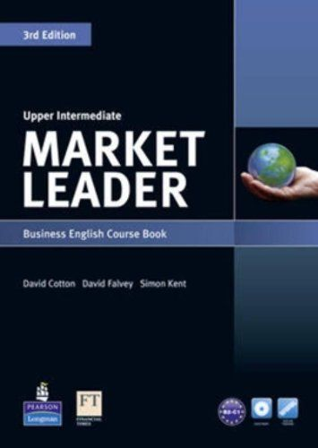 Market Leader Upper Intermediate Course Book With Dvd Rom By David Cotton Http Www Amazon Com Teacher Resources English Teacher Resources Communication Book