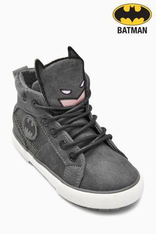 Charcoal Batman® Boots (Younger Boys
