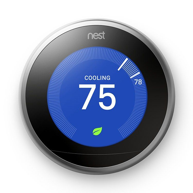 Nest T3008us Pro Wireless 3rd Generation Learning Thermostat Silver With 5 Year Warranty Products In 2019 Nest Thermostat Home Automation System Home Thermostat