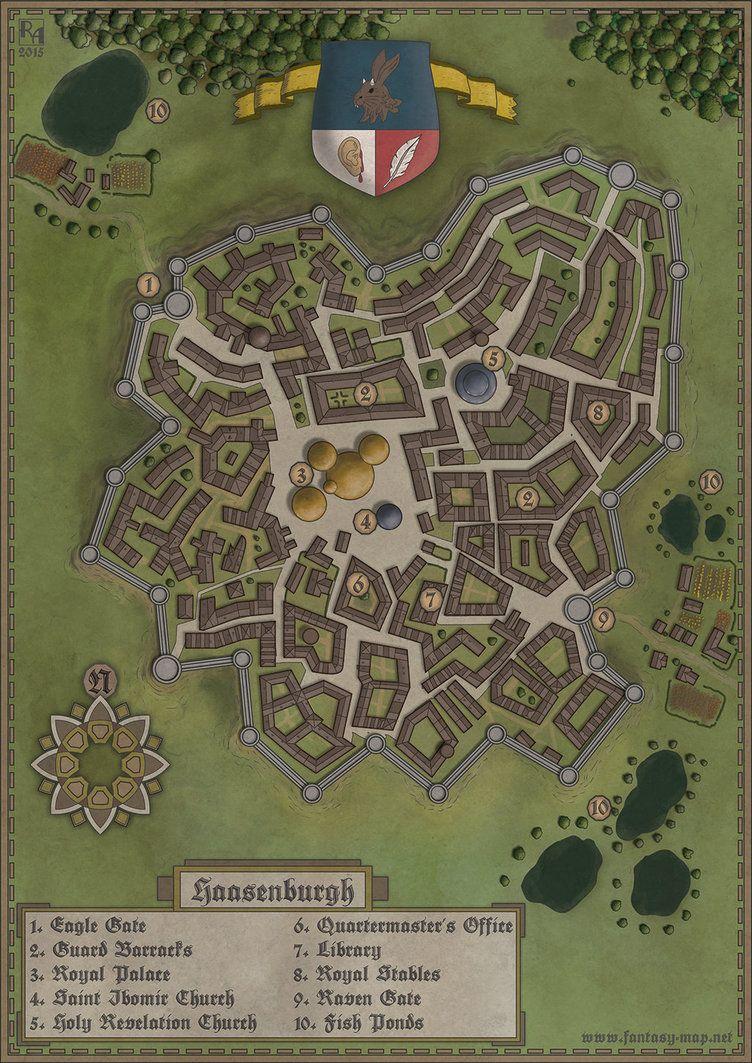 Fantasy City Maker : fantasy, maker, Haasenburgh, Fantasy, Maker,, World