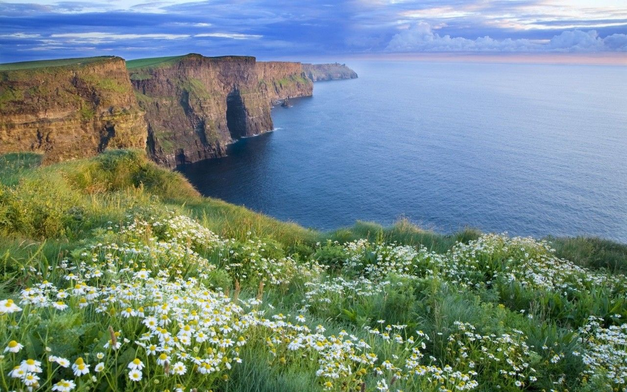 Free Download Cliffs Of Moher Wallpaper Hd Cliffs Of Moher Ireland 3d Wallpaper