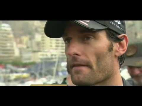 Michael and Liam hanging out during Mark Webber's interivew