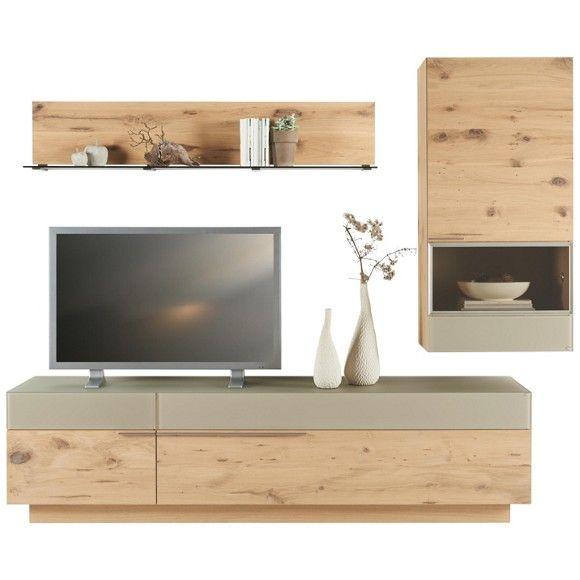 wohnwand in eichefarben schlammfarben wohnw nde. Black Bedroom Furniture Sets. Home Design Ideas