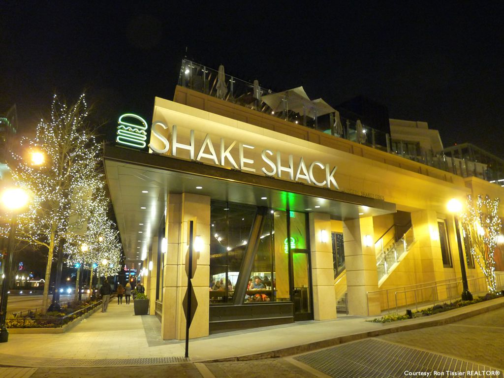 Shake Shack Restaurant In Buckhead Atlanta Georgia Photo