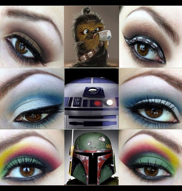 Awesome Star Wars Inspired Make Up