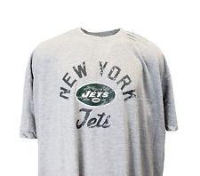 d2382a68d New York Jets NFL Majestic Heather Grey Tee Men s Big   Tall 6XL FREE  SHIPPING   FREE RETURNS!