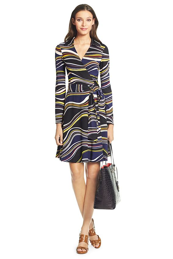 Sewing Inspiration From Dvf The T72 Is The Original Wrap
