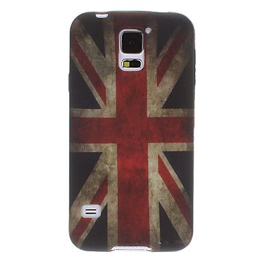 Retro UK Flag Soft Back Case Cover for Samsung Galaxy S5 i9600 - Samsung Galaxy S5 Cases