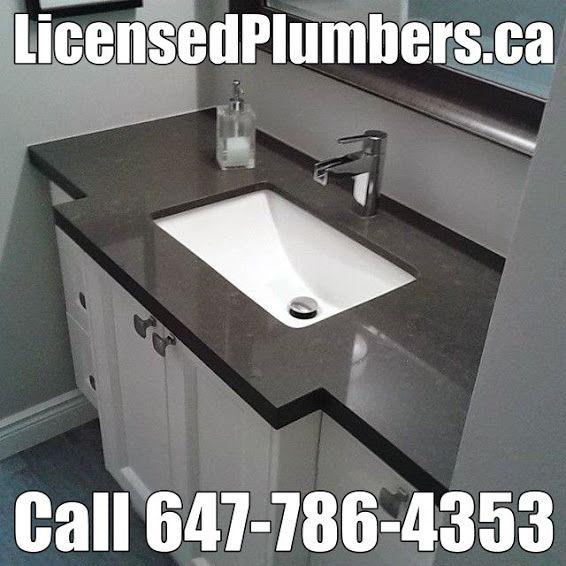 Bathroom Plumbing Installation Remodelling http//licensedplumbers.ca for small bathroom #plumbing