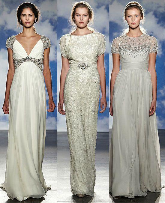 Bridal Fashion Show: Neoclassical Fashion Interpretation By Jenny Packham
