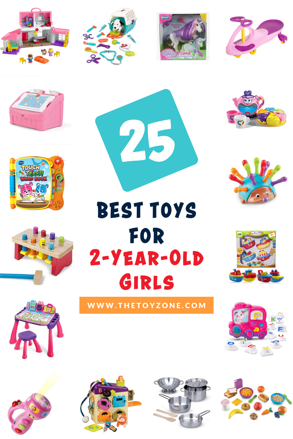 25 Best Toys for 2-Year-Old Girls in 2020 - TheToyZone ...