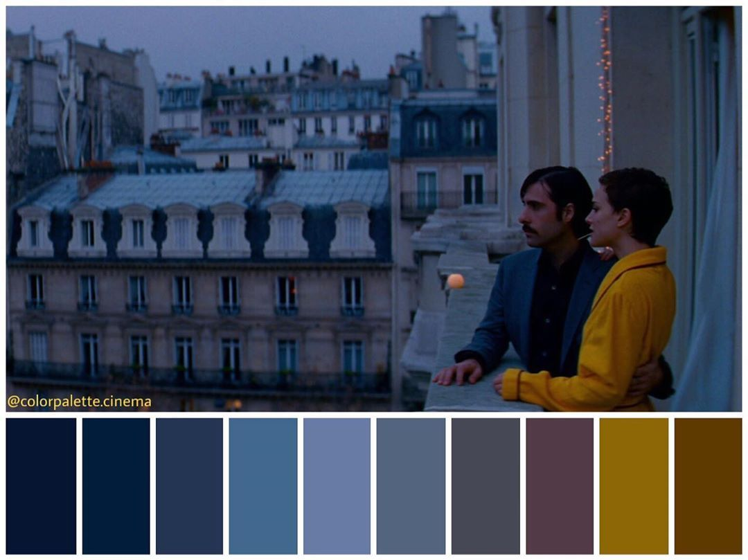 Color Palette Cinema On Instagram Hotel Chevalier 2007 Directed By Wes Anderson Cinematography Robert D Cinema Colours Cinematography Color Palette
