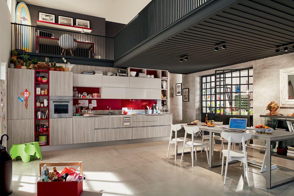 Cucina modello Carrera.Go Plus Veneta Cucine | cucine Domus ...
