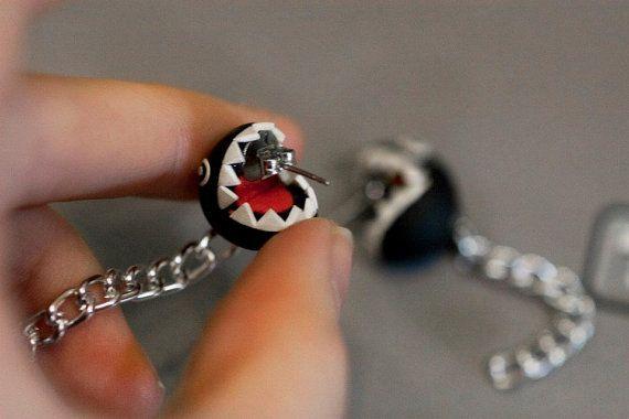 Chain Chomp Earrings Mario | Chains, Etsy and Jewlery