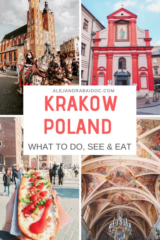 KRAKOW POLAND, WHAT TO DO, SEE, EAT