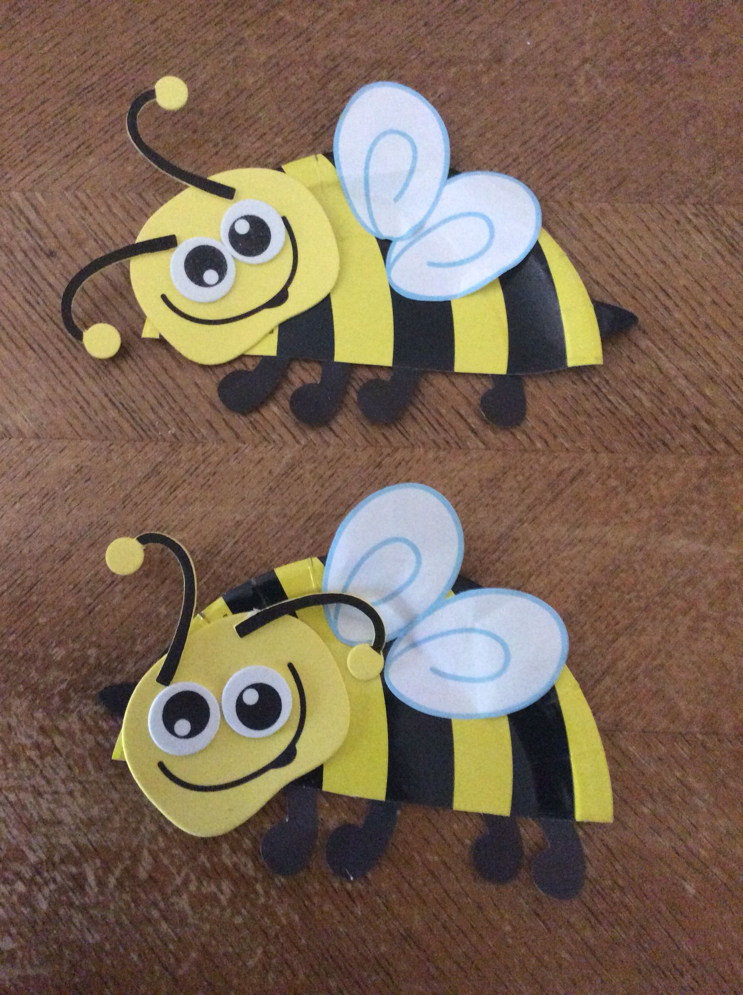 Paper Plate Bumble Bee Bumble Bee Craft Bee Crafts Paper Plate