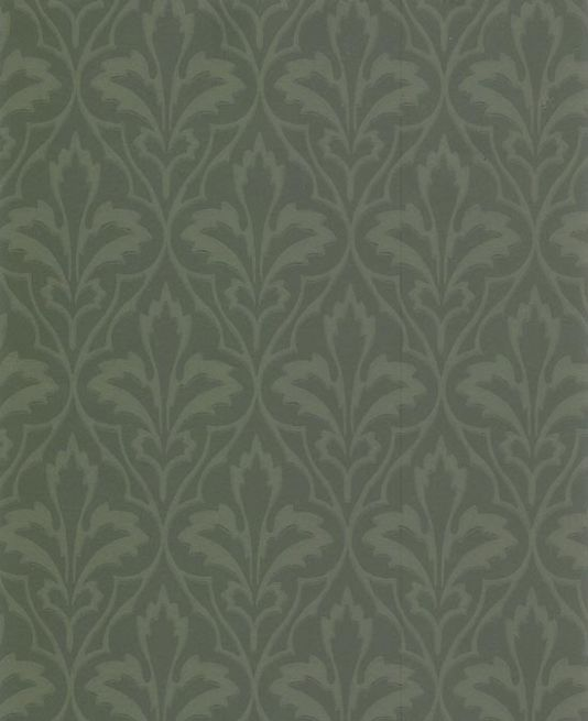 Owen Jones Wallpaper A William Morris Of Gothic Design In Greens