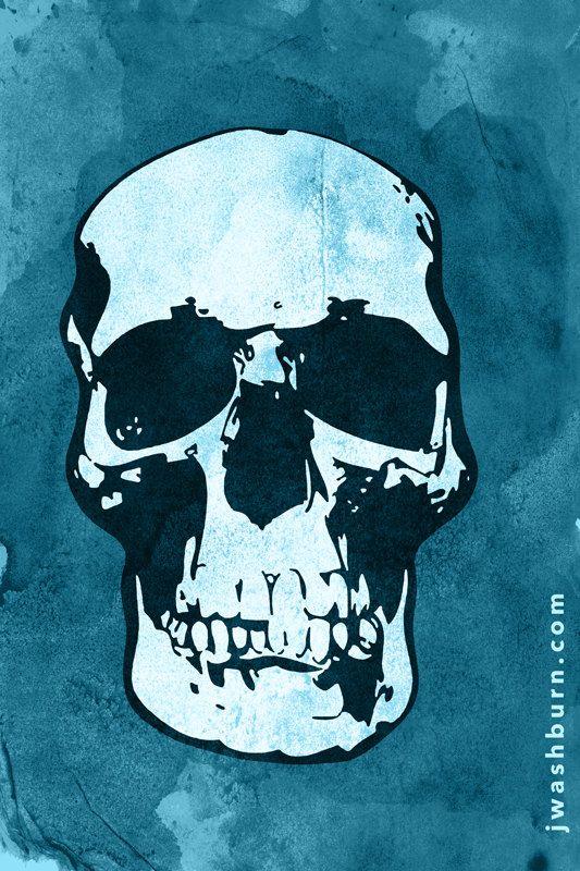 Sherlock Skull Poster Bbc My Division Sherlock
