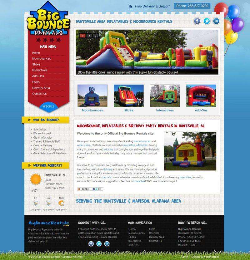 Joomla 2 5 Kids Fun Moonbounce Web Template Theme