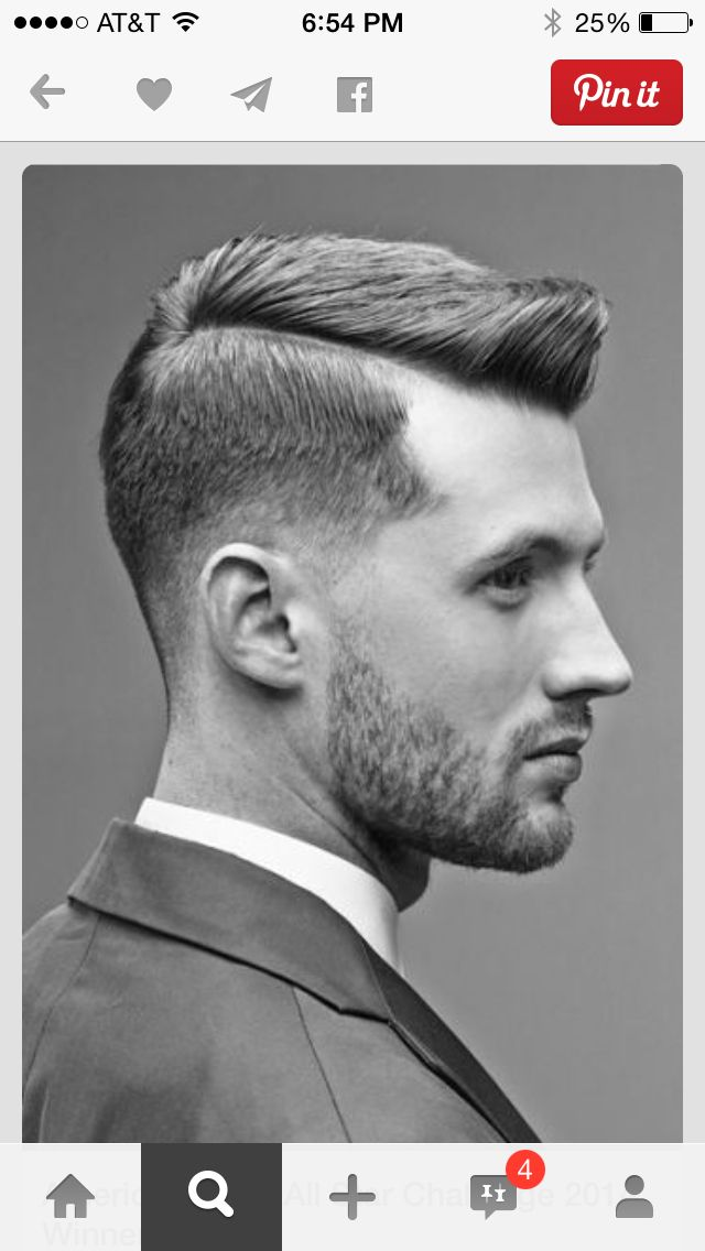 Business Or Casual Fade Mens Well Groomed Hair Style Peterdeluca