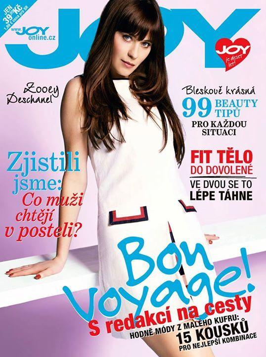 JOY Czech June 2015: Zooey Deschanel