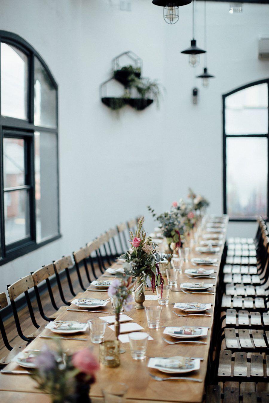 aliki sohail s industrial collingwood wedding creative wedding rh pinterest com
