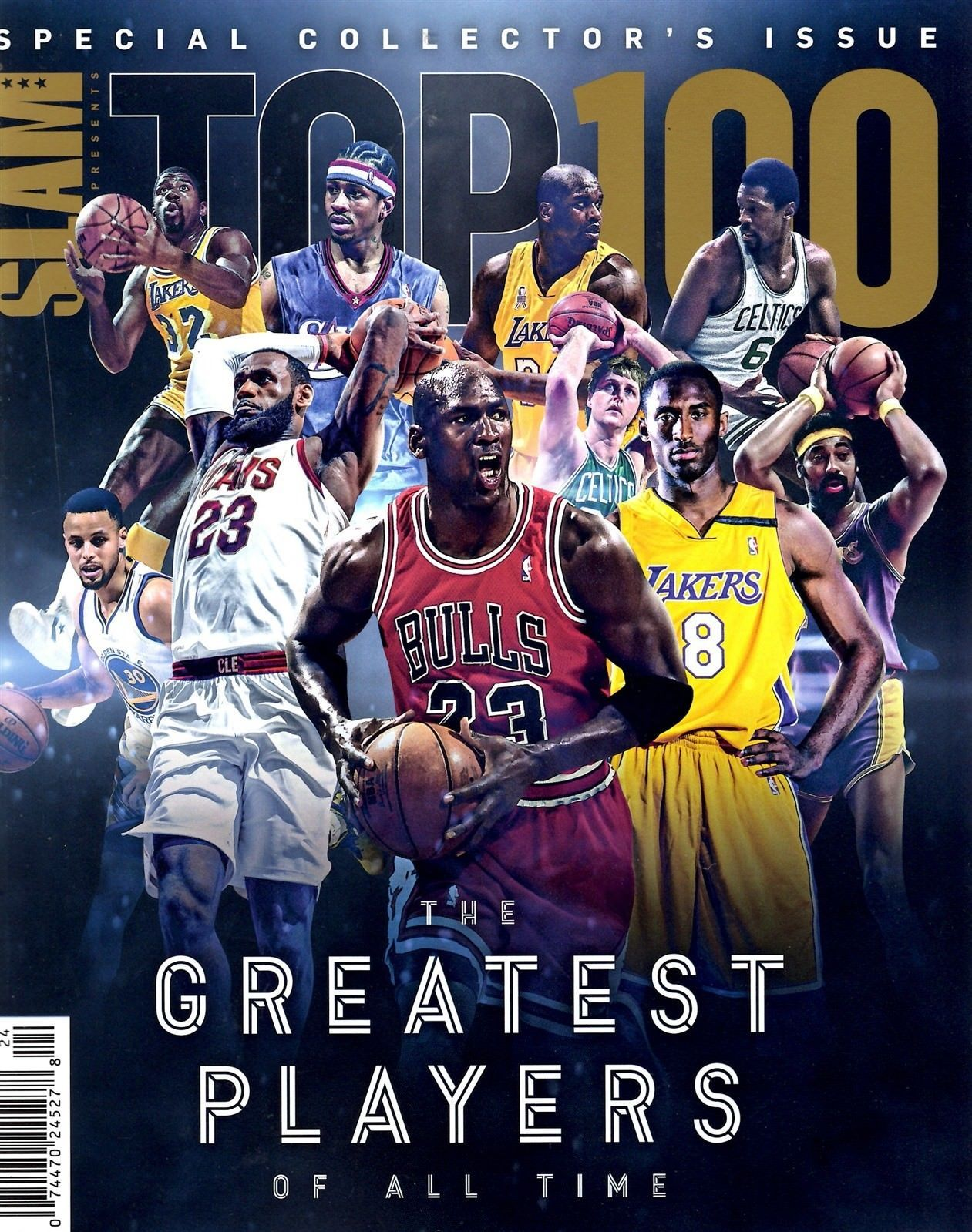 buy online 06132 9481b Slam Magazine 2018 basketball NBA Top 100 GREATEST PLAYERS OF ALL TIME