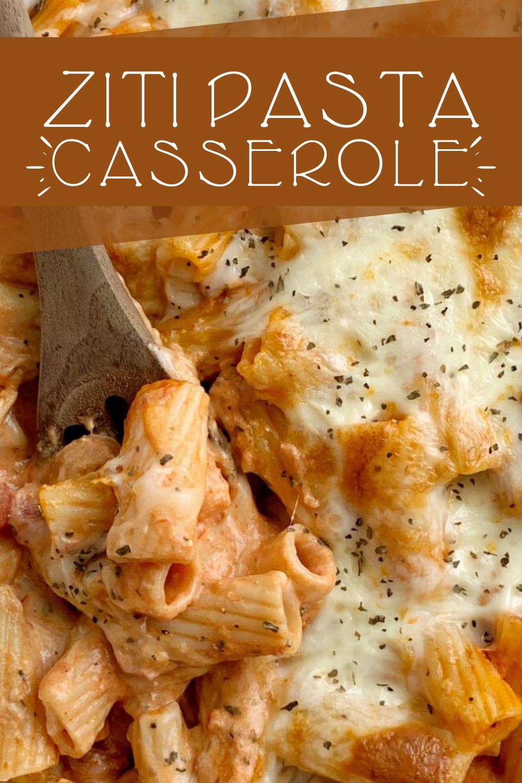 Ziti Pasta Casserole In 2020 Ziti Pasta Ziti Ziti Recipes