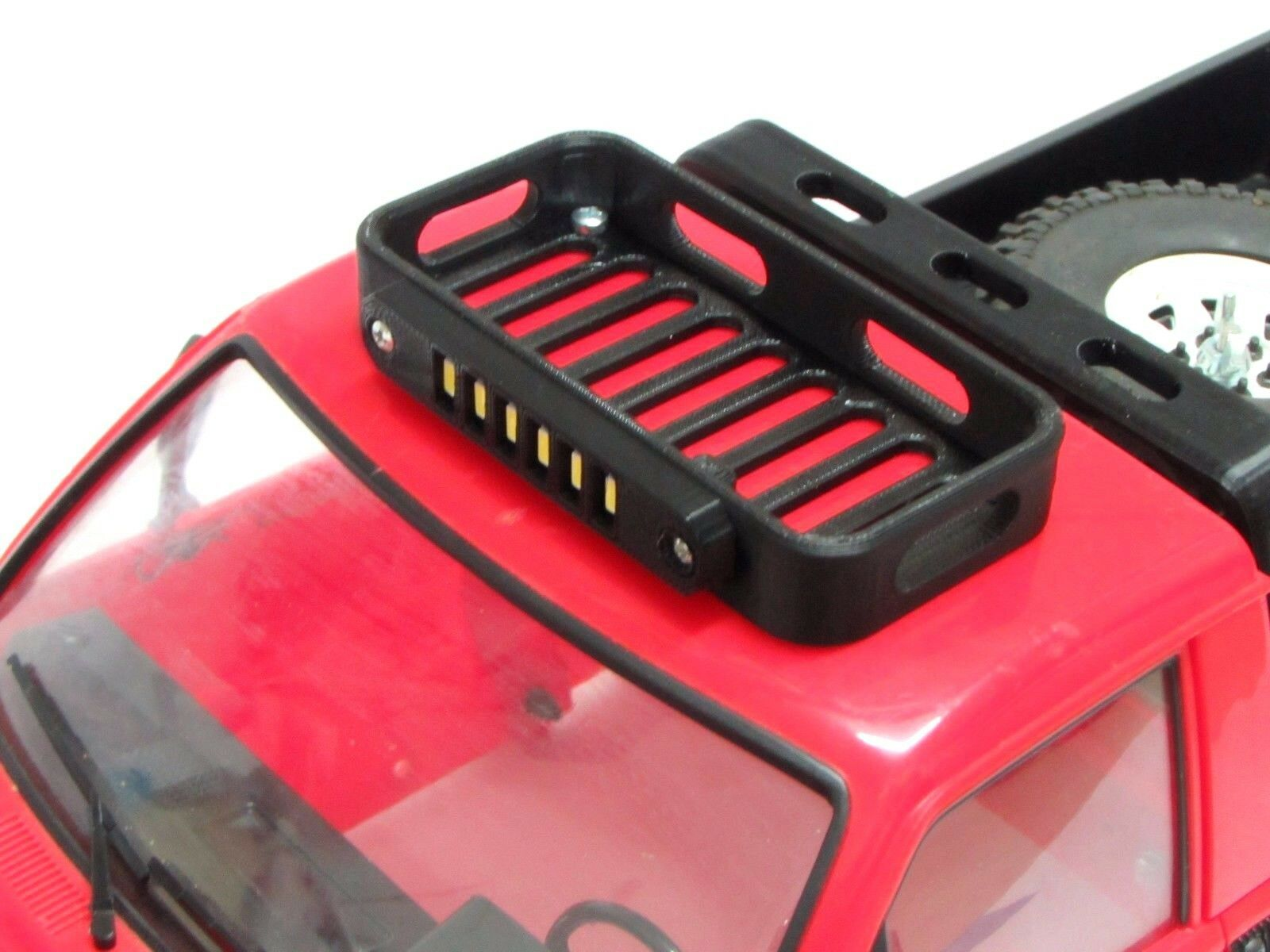 1 10 Scale Roof Rack Led Bar 3s Lipo 11 1v Rc4wd Trail Finder 2 Accessories Ebay Led Roof Rack