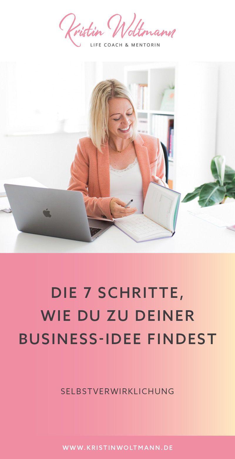 Wie finde ich die zur mir passende Business-Idee? Wie lege