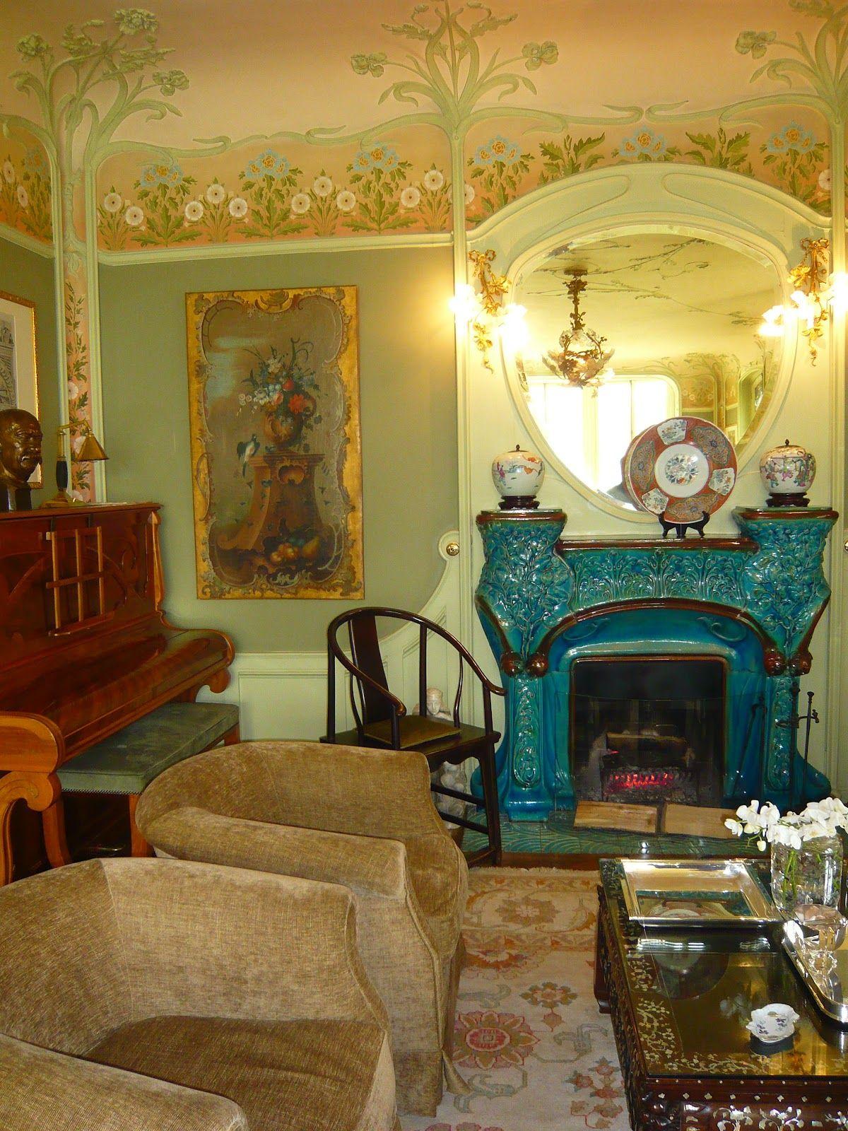 Interieur Art Nouveau De La Maison Familiale Vuitton Lors
