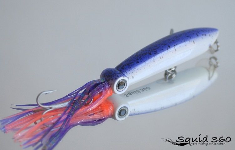 The most realistic and effective squid stick bait and for Fishing knots for lures