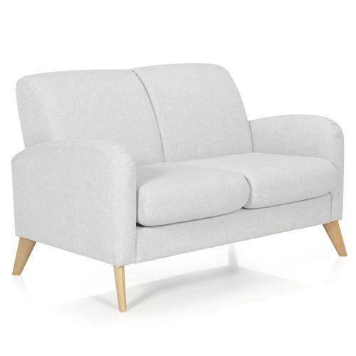 Canapé 2 places fixe design rétro Seventy 349€ Dimensions du