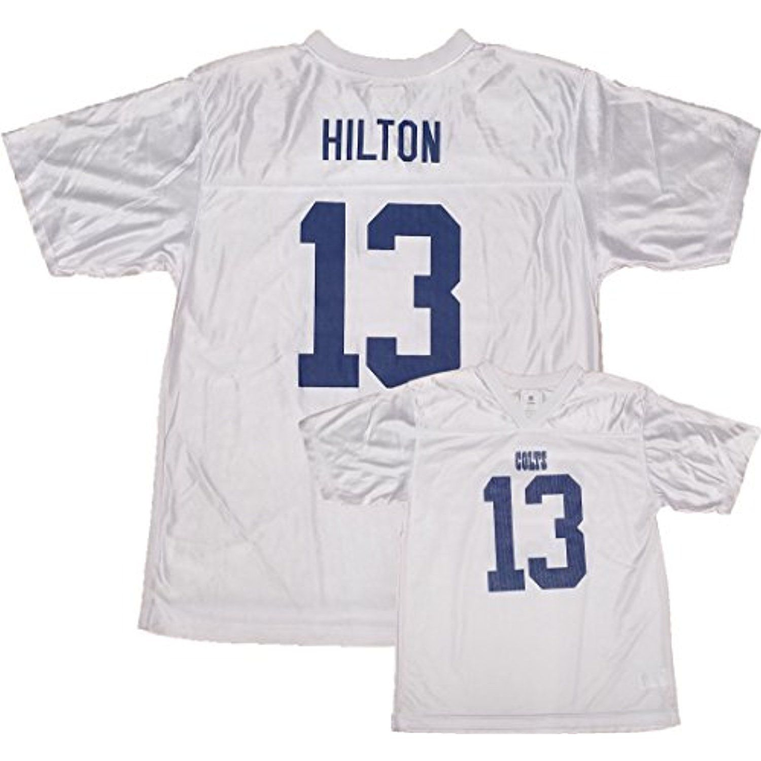 finest selection 1989d 851ab T.Y. Hilton Indianapolis Colts White Youth Player Away ...