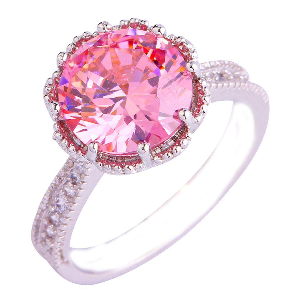 Empsoul 925 Sterling Silver Natural Chic Filled 3.5ct Pink & White ...