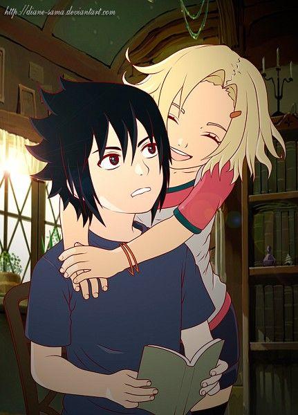 Young Sasuke and Ino. / SasuIno | Ino Yamanaka and Friends ...  Young Sasuke an...