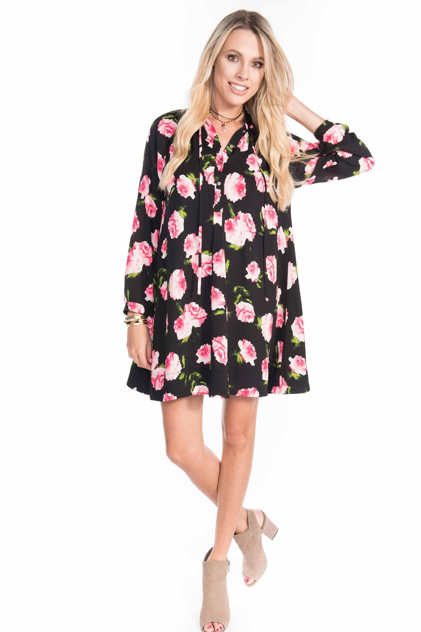 Kylie rose garden tunic dress products pinterest products