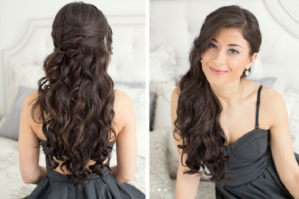 Prom Hairstyles Down For Long Hair 2 Stylish Hair Easy Hairstyles Thick Hair Styles