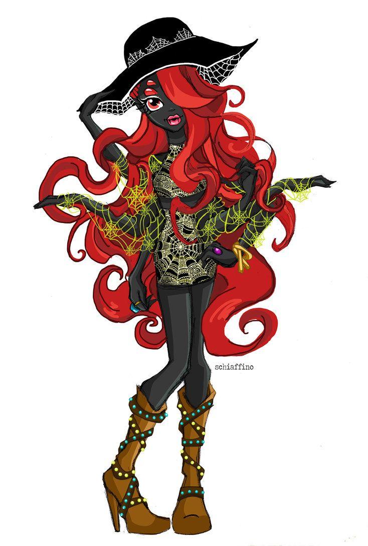 Wydowna Spider Monster High Characters Monster High Art Monster High Dolls