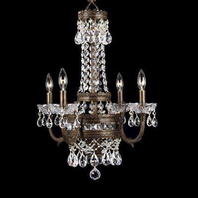 classic lighting chandelier 68914 4 light contessa mini