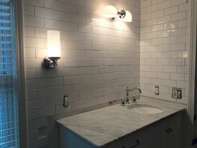 Pottery Barn Mercer Bathroom Light Fixtures Victorian Faucet From - Custom bathroom light fixtures