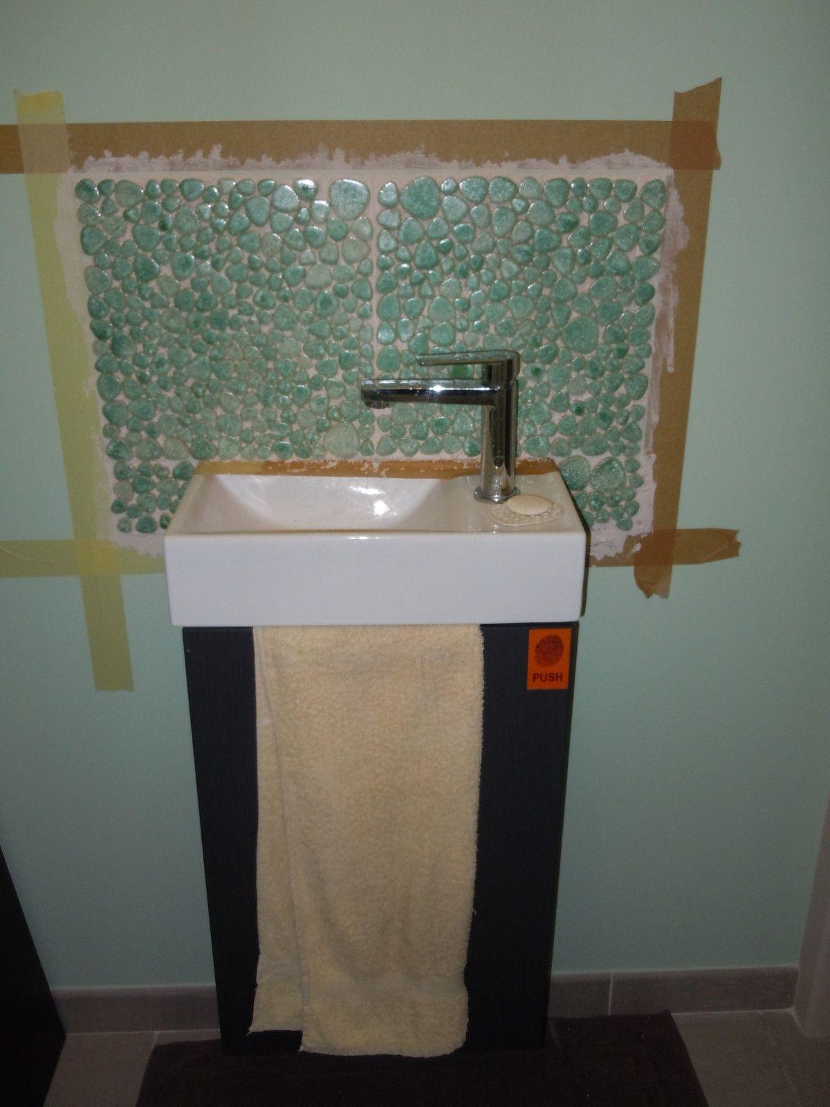 Lave mains design pour wc fashion designs - Credence pour lave main ...