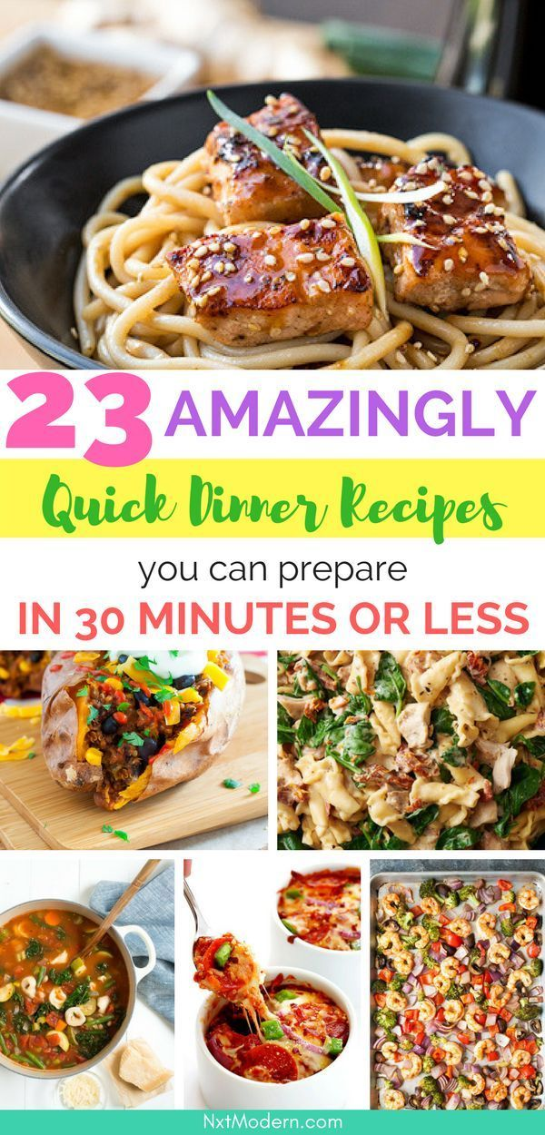 23 Quick Dinner Recipes You Can Prepare in 30 Mins or Less images
