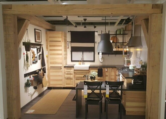 METOD kitchen with TORHAMN fronts, IKEA in Haarlem, Noord-Holland ...