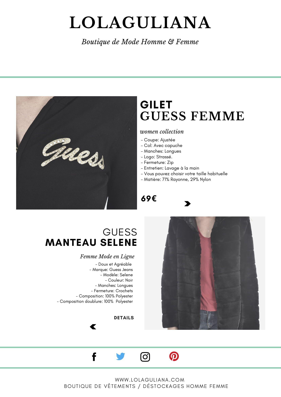 Boutique en ligne de grandes marques de vêtements aux