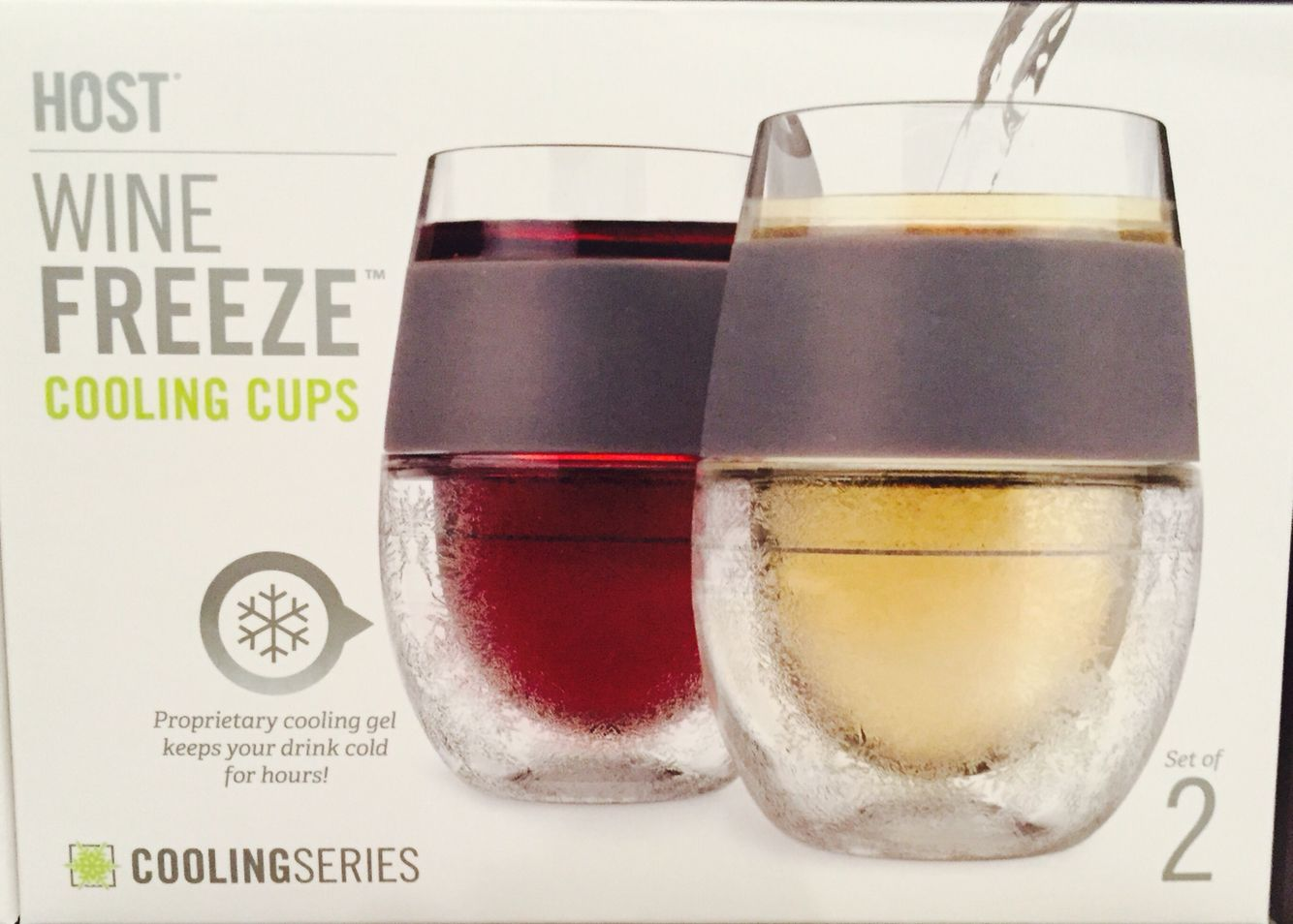 Freeze Glasses Perfect For Keeping Your Wine Cold On Hot Summer Days Stemless Wine Glass Wine Glassware