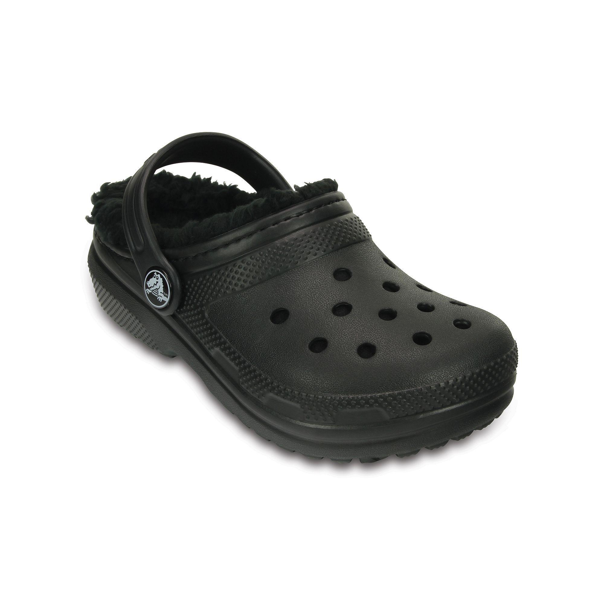 5c7ffb1b6456c Crocs Classic Lined Boys' Clogs | Products | Crocs classic, Crocs ...